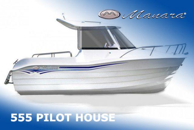 Manara 550 PILOT HOUSE